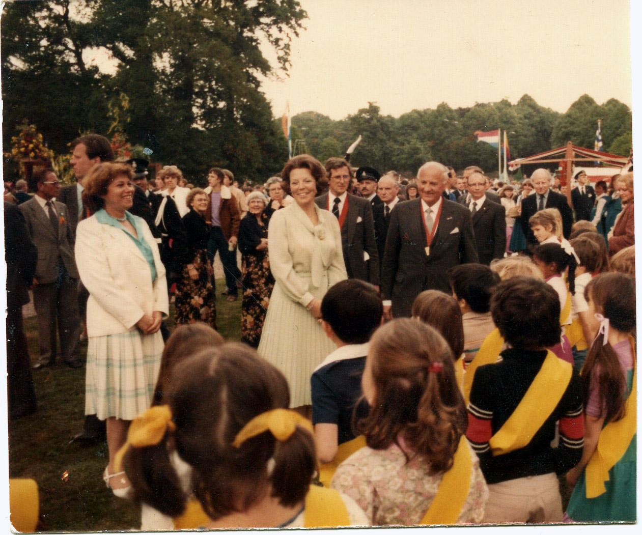 דרורה ובאטריס מלכת הולנד שנות ה80